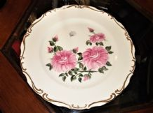 ORIGINAL GILDED HANDPAINTED PLATE MARGARET JOHNSON COPHURST CREATIONS 1989 12""